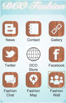 DCO Fashion Store iphone App