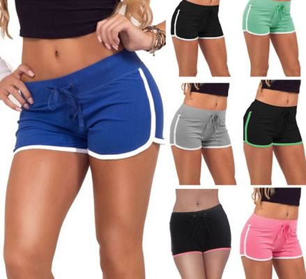 Casual Womens Sport Mini Shorts