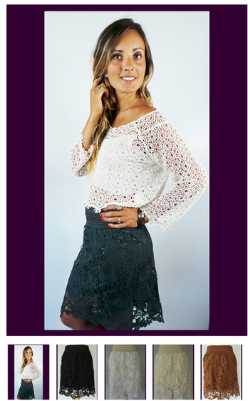 DCO Straight Lace Skirts