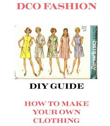 How to make your own fashion clothes ebook
