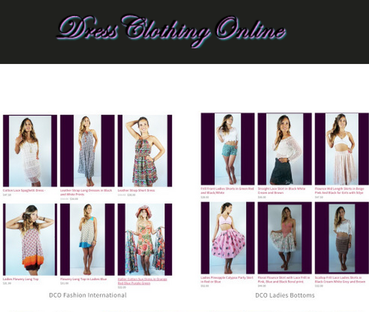 Dress Clothing Online Womens tops bottoms and dresses