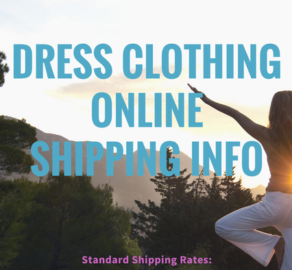 Dress Clothing Online Shipping Information