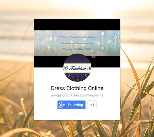 Dress Clothing Online Google+