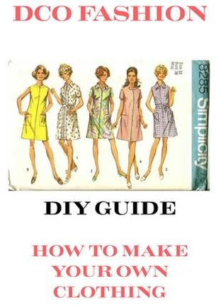 How To Make Clothing Free DIY Guide Ebook